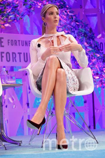 """Иванка Трамп выступила на """"Саммите сильнейших женщин"""". Фото Getty"""