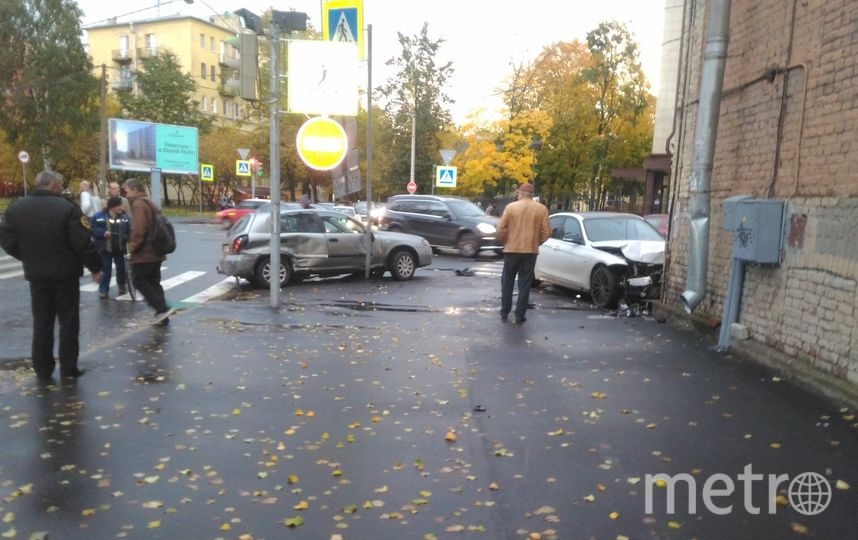 ДТП и ЧП | Санкт-Петербург | vk.com/spb_today. Фото vk.com