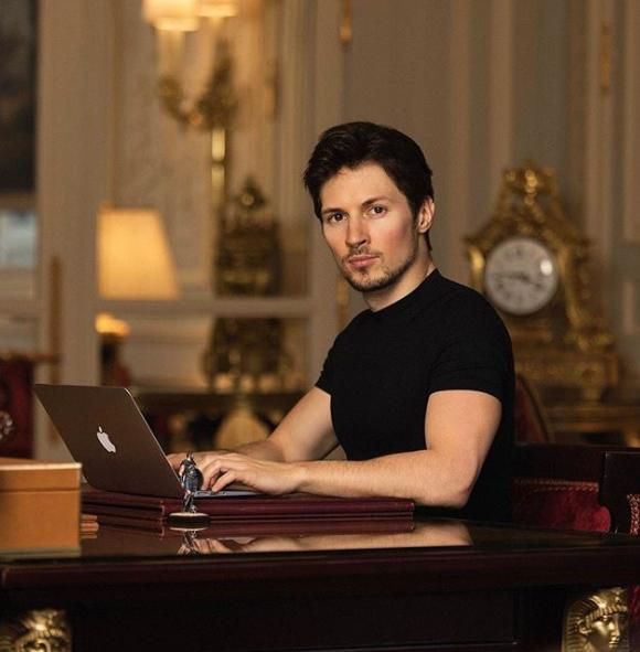 Павел Дуров. Фото скриншот https://www.instagram.com/durov/