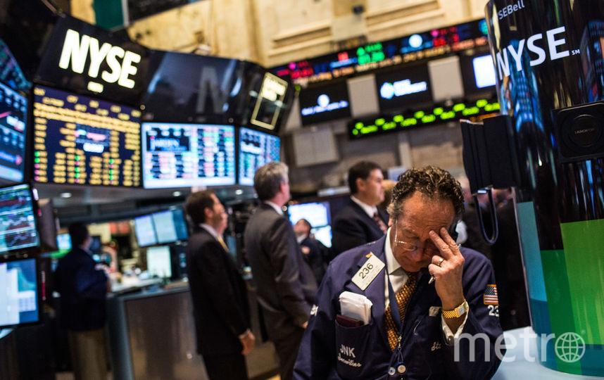 Dow Jones. Фото Getty