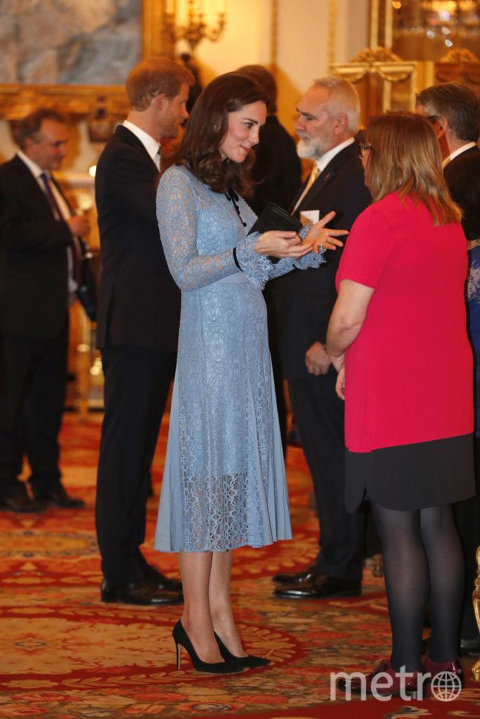 Кейт Миддлтон впервые вышла в свет после объявления о беременности - фотоархив. Фото Getty