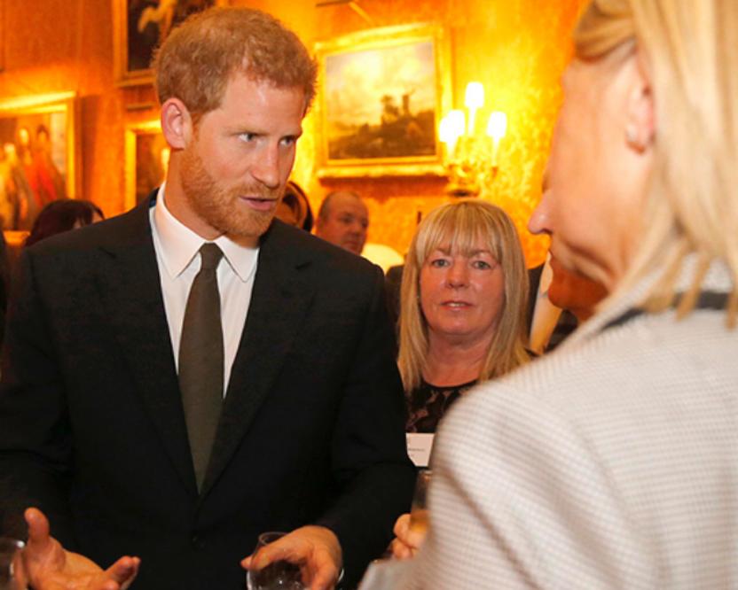 Принц Гарри на приеме во дворце в честь Дня психического здоровья - фотоархив. Фото Скриншот instagram.com/theroyalfamily/