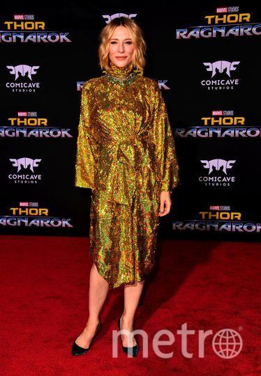 "На премьере фильма ""Тор: Рагнарёк"". Кейт Бланшетт. Фото Getty"