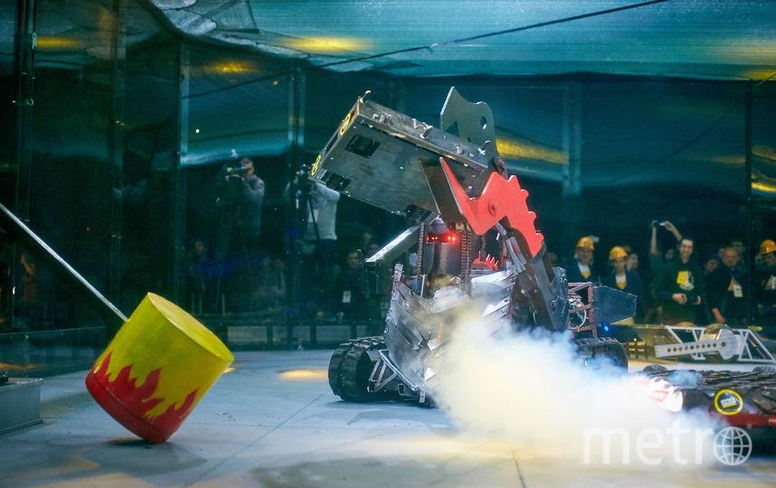 """Битва роботов пройдет в СК """"Юбилейный"""". Фото предоставлено организаторами."""
