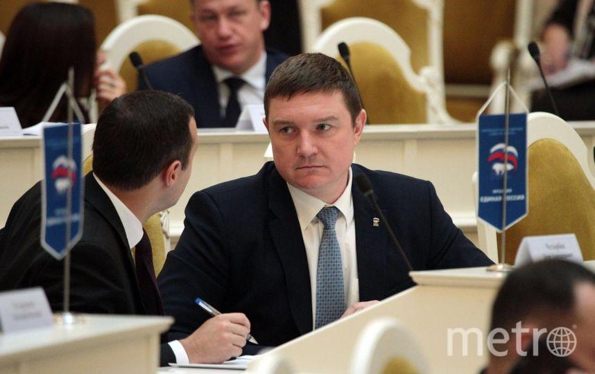 Макаров потребовал проверить главу комитета по строительству Петербурга. Фото Фото - www.assembly.spb.ru