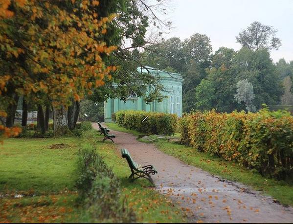 Парки Петербурга.