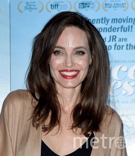 На премьере фильма. Анджелина Джоли. Фото Getty