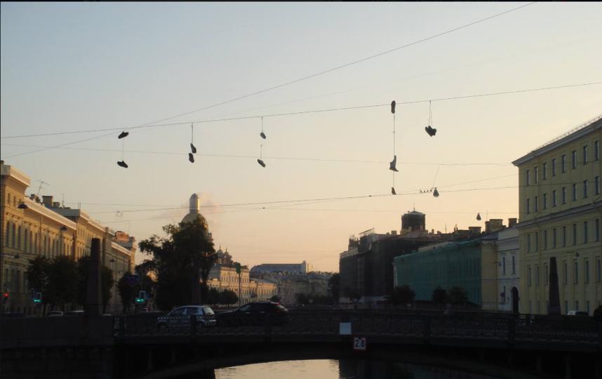 Это фото выложил Колесов утром 11 октября.