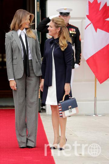 Мелания Трамп и Софи Грегуар. Фото Getty