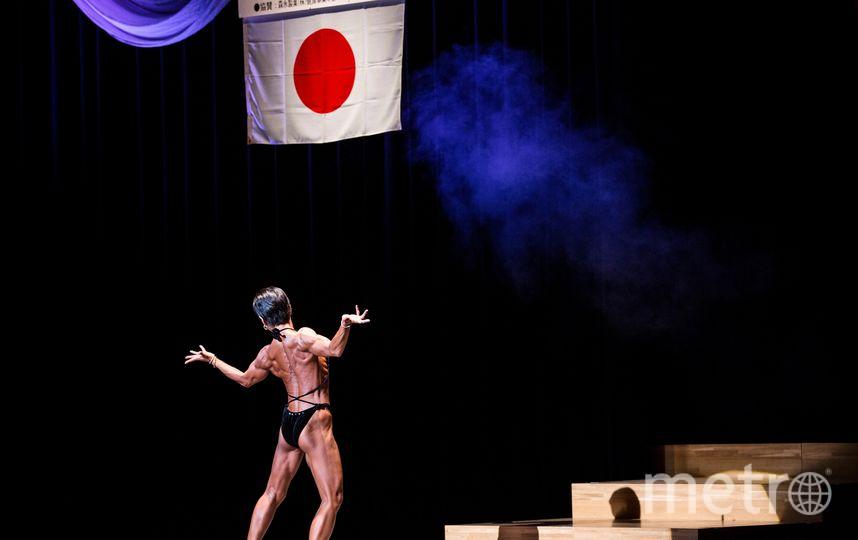 Чемпионат Японии по бодибилдингу. Фото AFP