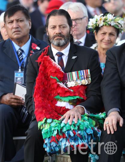 Вилли Апиата, капрал Новой Зеландии. Фото Getty