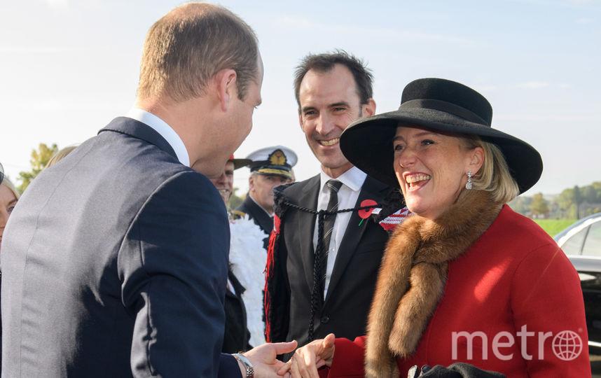 Принц Уильям поприветствовал капрала Новой Зеландии носом к носу. Фото Getty