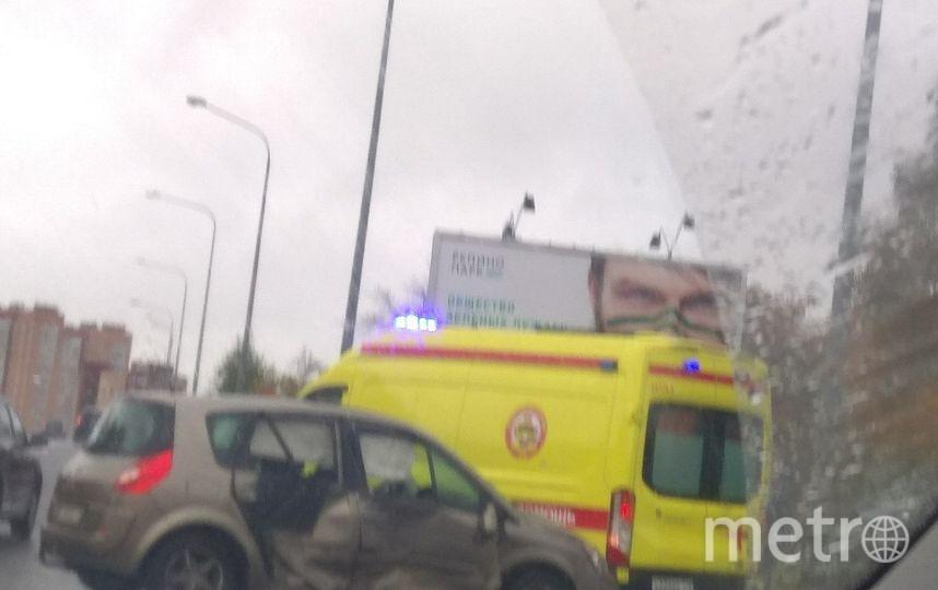 ВДТП вСестрорецке тяжело пострадал шофёр  иномарки