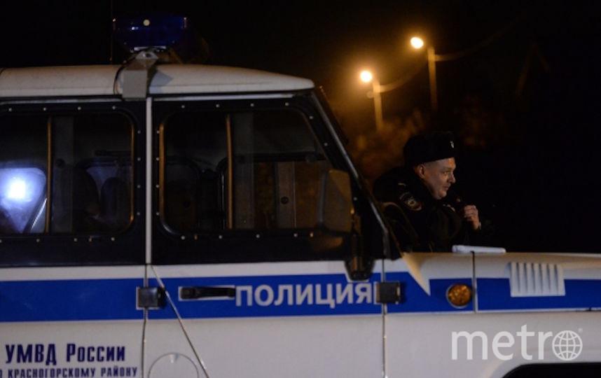 Сотрудники столичной полиции (архивное фото). Фото РИА Новости