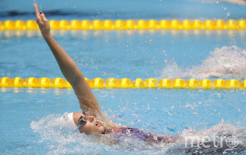 Плавающая женщина. Фото Getty