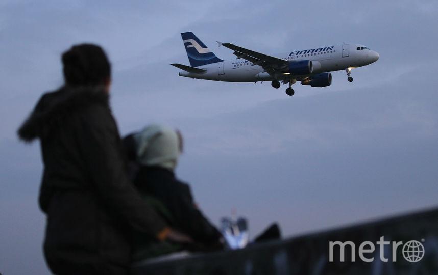 Самолёт авиакомпании Finnair уходит в небо. Фото Getty