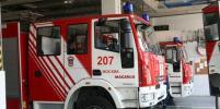 В автосалоне на Ярославском шоссе в Москве произошёл пожар