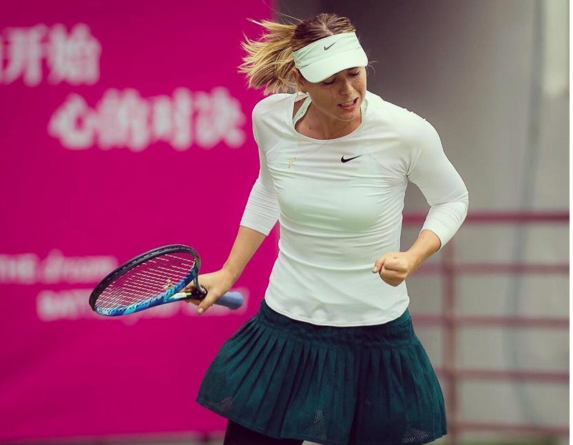 Мария Шарапова завоевала первый титул после дисквалификации.