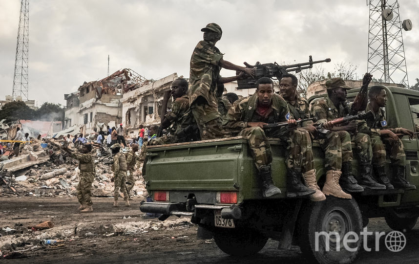 Теракт в Сомали. Фото AFP