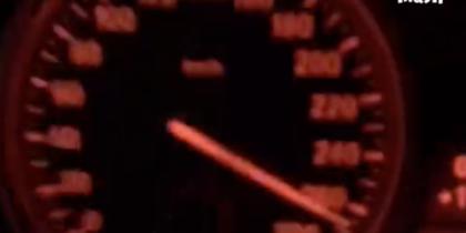 Столичный лихач на МКАД разогнал BMW до 270 километров в час – видео