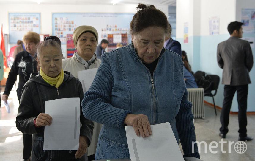 Выборы в Киргизии. Фото AFP