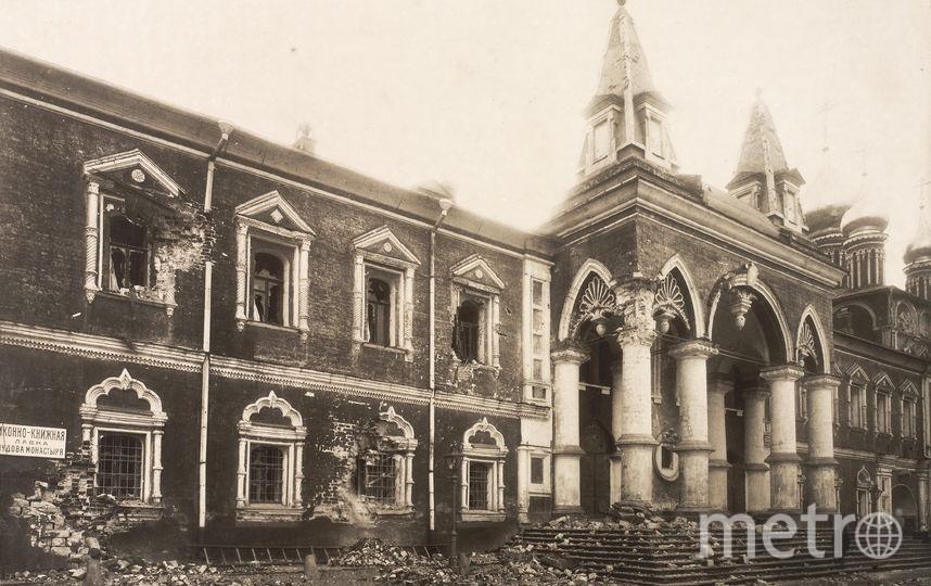 Главный корпус и Алексеевская церковь Чудова монастыря, который находился в восточной части Кремля. Фото предоставлено пресс-службой Музеев Московского Кремля