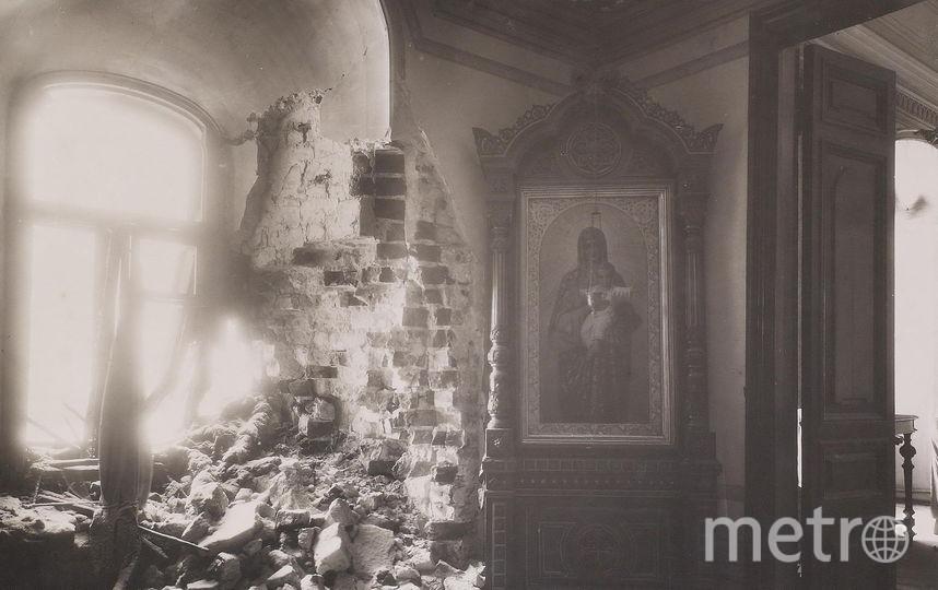 Митрополичьи покои Чудова монастыря, разрушенного в начале 1930-х годов. Фото предоставлено пресс-службой Музеев Московского Кремля