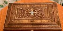 Ковчег с башмачком Спиридона Тримифунтского прибыл в Петербург