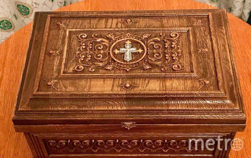 Православная святыня прибыла в Петербург. Фото предоставлены Санкт-Петербургской митрополией.