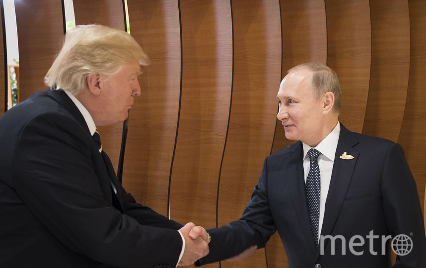 Встреча Дональда Трампа и Владимира Путина. Фото Getty