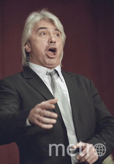 Дмитрий Хворостовский на концерте, 2001-й год. Фото РИА Новости