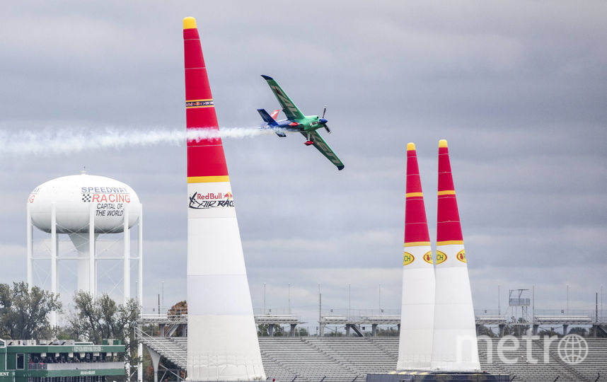 Муроя установил рекорд трассы в Индианаполисе. Фото redbullcontentpool.com