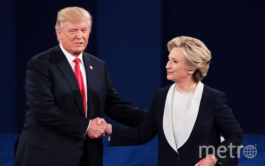 Дональд Трамп и Хиллари Клинтон. Фото Getty