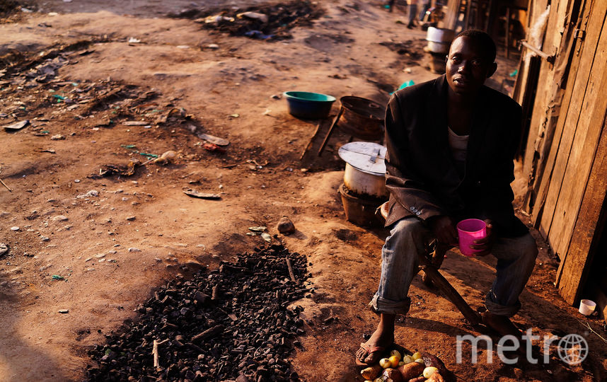 Бедность в странах Африки. Фото Getty