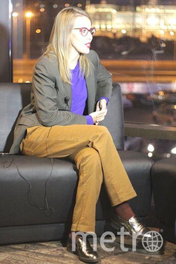 """Ксения Собчак приезжает в Петербург с лекциями и рассказывает, как стать успешной. Фото """"Metro"""""""