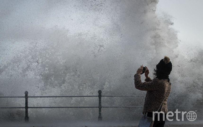 "Ураган ""Офелия"" в Британии. Фото Getty"