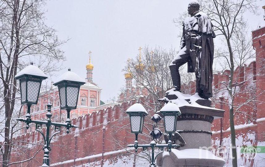 В выходные Москву ожидает первый снег. Фото Василий Кузьмичёнок