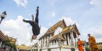 Гимнастка из Петербурга стала лучшей в мире в паркуре