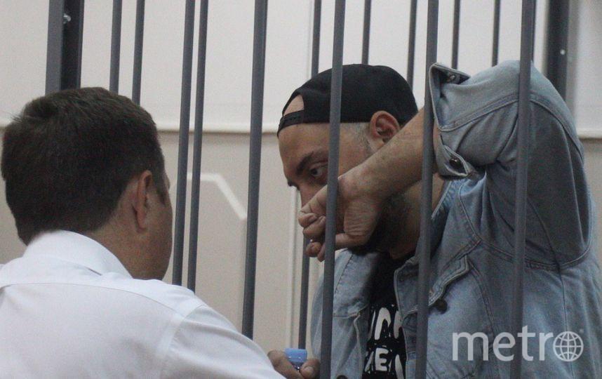 Кирилл Серебренников на суде. Фото Василий Кузьмичёнок
