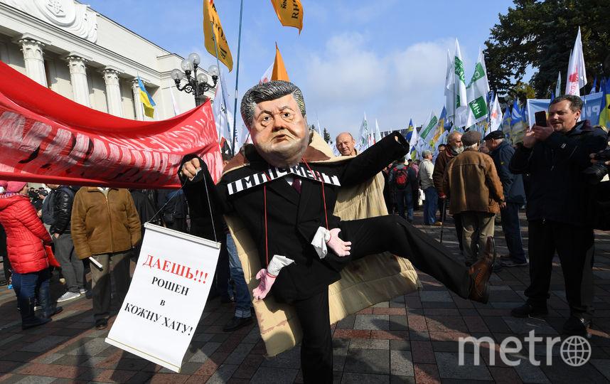 Столкновения между протестующими иполицией произошли уРады вКиеве