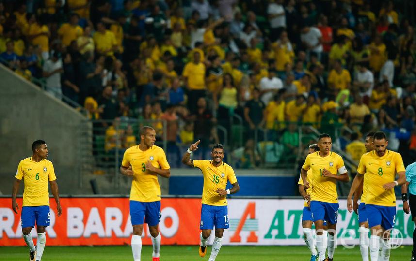 Сборная Бразилии по футболу. Фото Getty