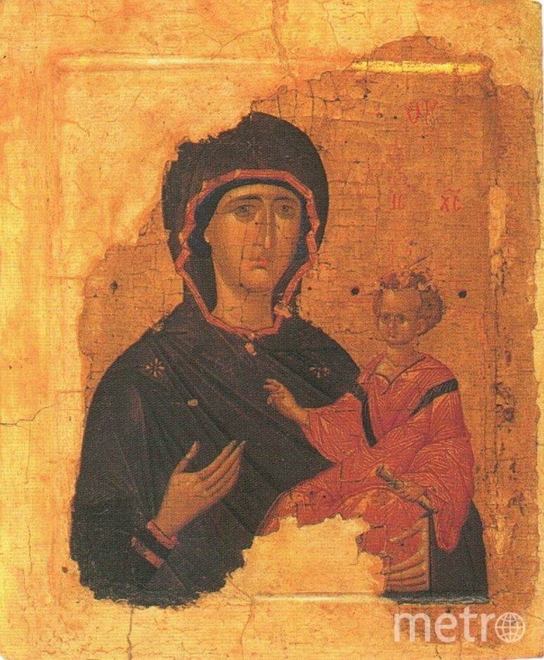 "Икона ""Богоматерь Одигитрия"". Фото Wikipedia"