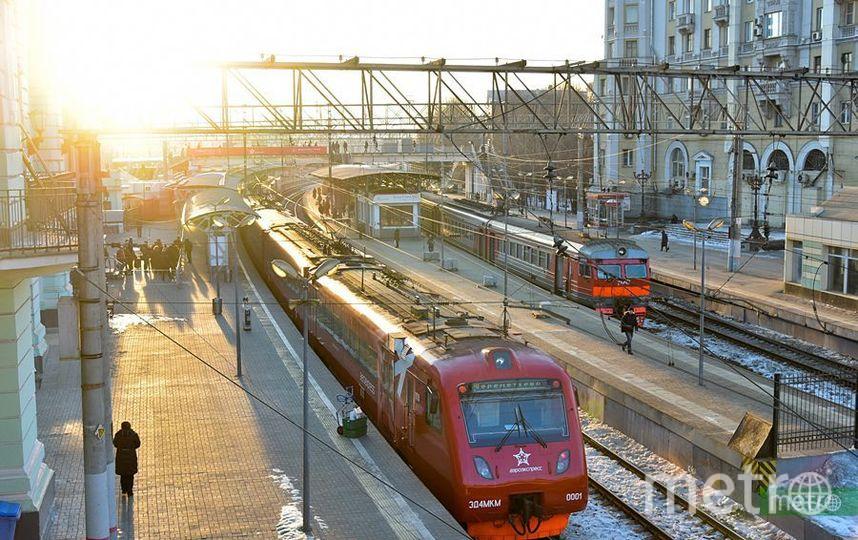 Электрички в Москве переходят на зимнее расписание. Фото Василий Кузьмичёнок