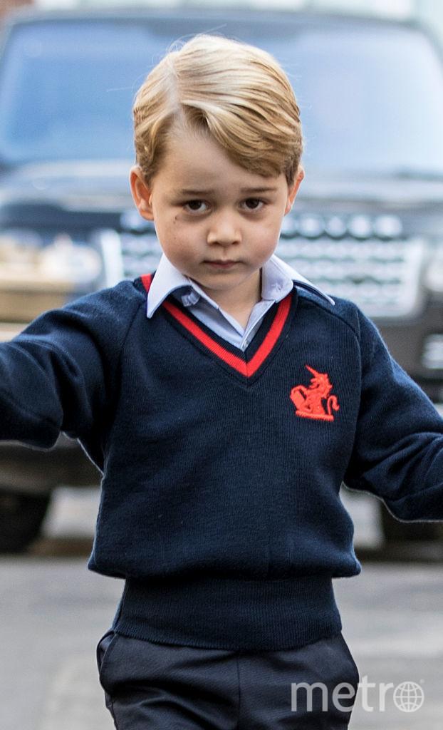 Принц Уильям рассказал, какие мультики любит принц Джордж. Фото Getty