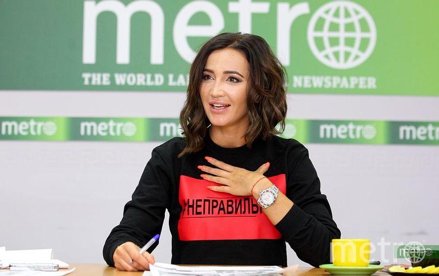 Ольга Бузова в офисе Metro (Москва). Фото Василий Кузьмичёнок