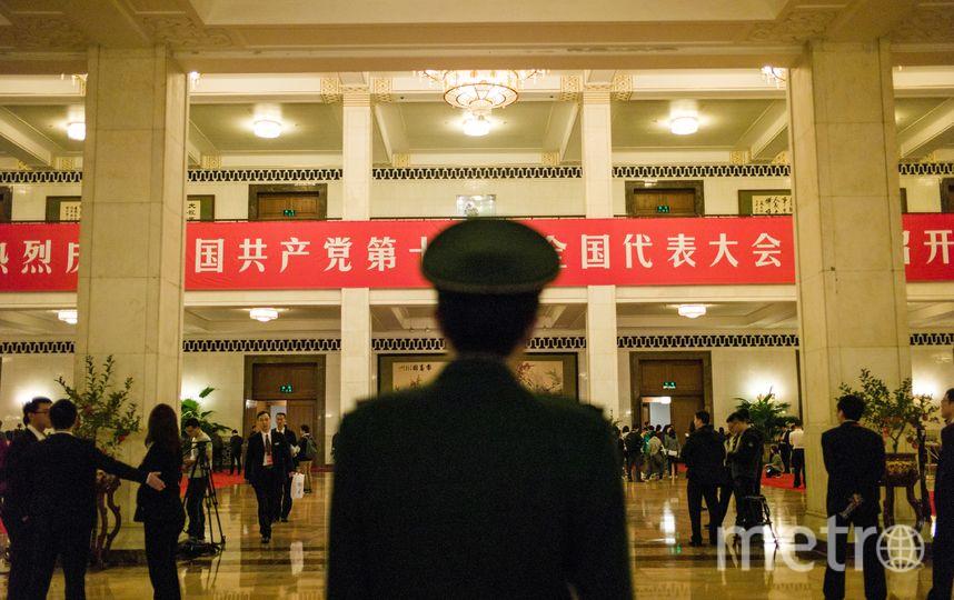 19-й съезд Коммунистической партии Китая. Фото AFP