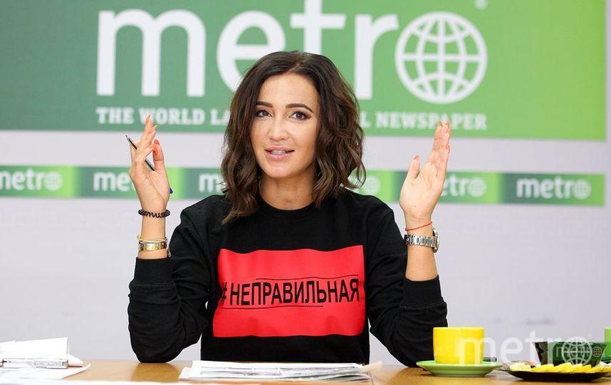 Ольга Бузова в редакции Metro-Москва. Фото Василий Кузьмичёнок