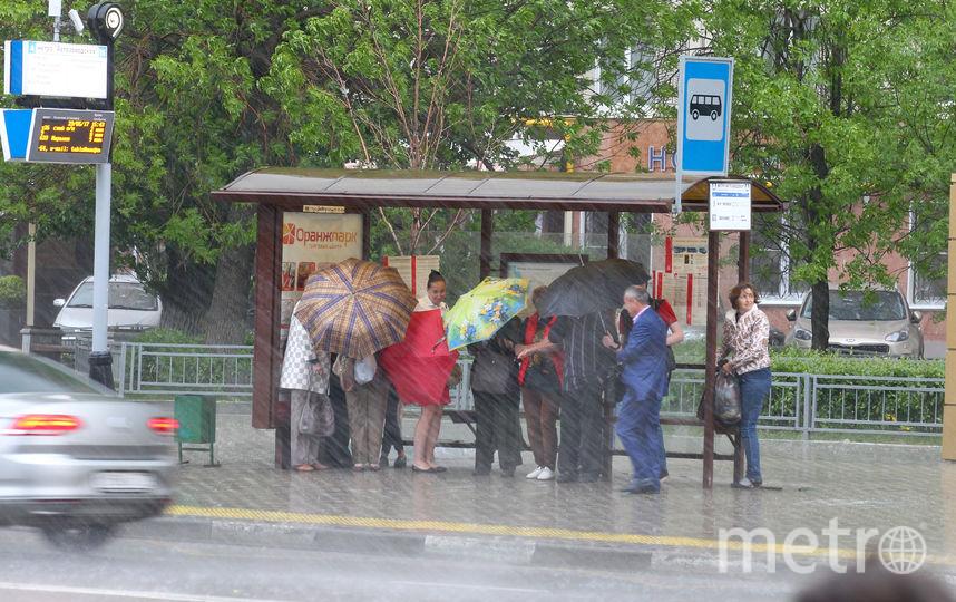 В Москве на два дня объявлено штормовое предупреждение. Фото Василий Кузьмичёнок