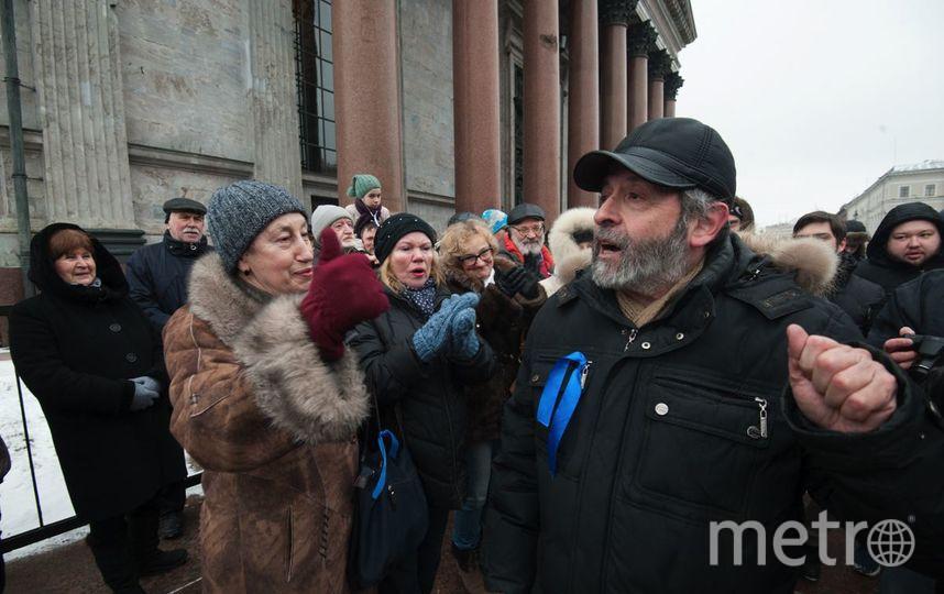 "Градозащитники пригласили главу Исаакия на встречу. Фото ""Metro"""