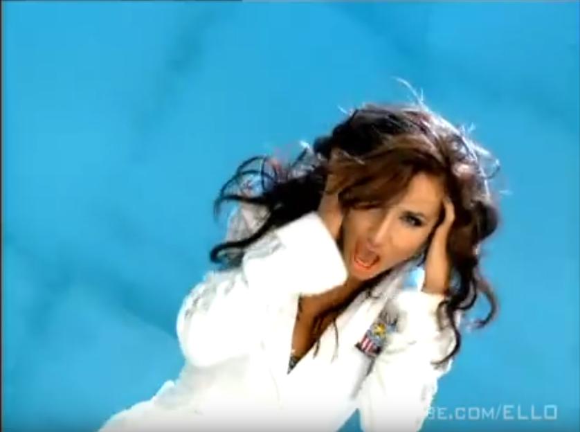 """Светлана Лобода в группе """"ВИА Гра"""". Клип на песню """"Биология"""". Фото Скриншот Youtube"""